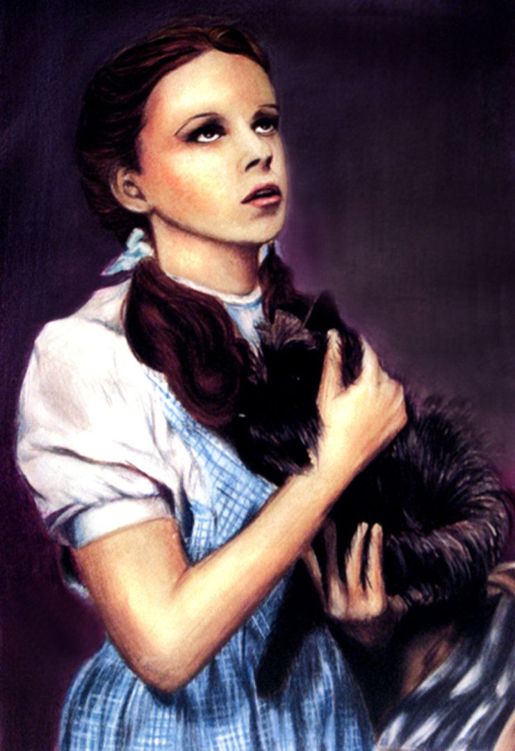 Dorothy and toto by jen 2007 wizard of oz family
