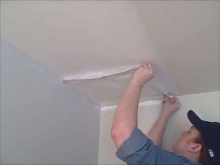 Diy Tissue Paper Ceiling Hides