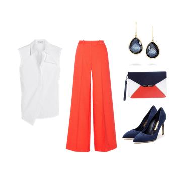 Este outfit es perfecto para un día casual en la oficina o para una reunión con clientes