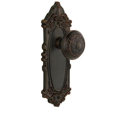 Grandeur Windsor Door Knob with Grande Victorian Plate Knob Function ...