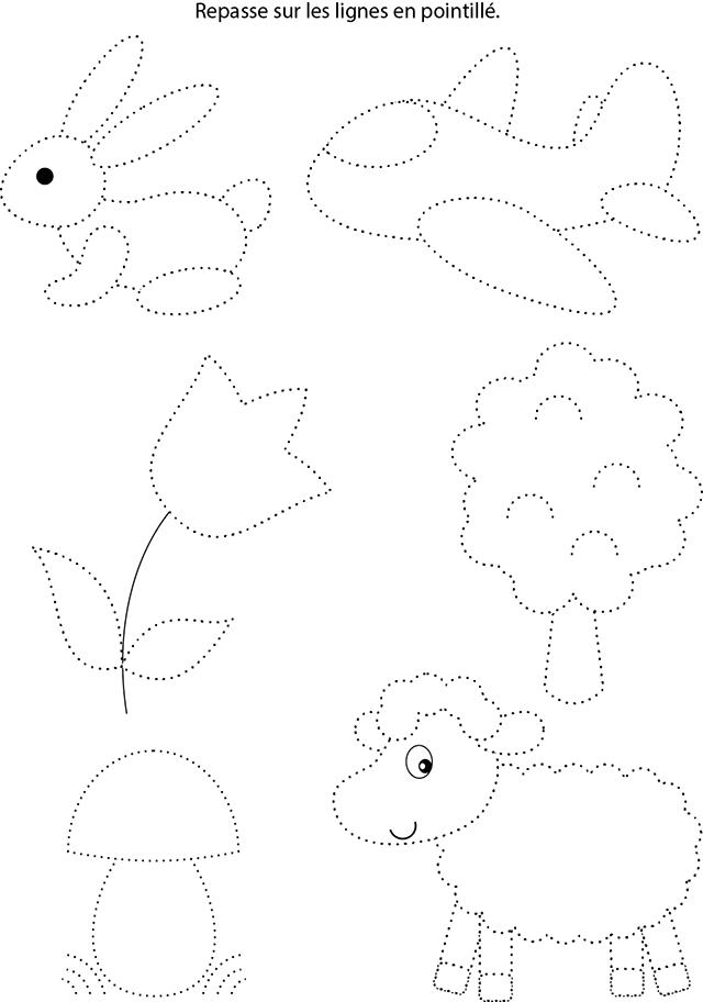 coloriage pointill u00e9