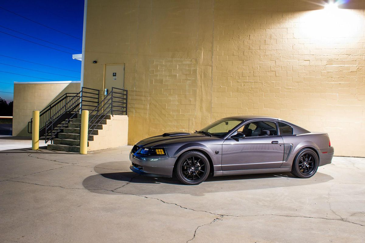 Michael scribellito s sleek 2004 mustang gt