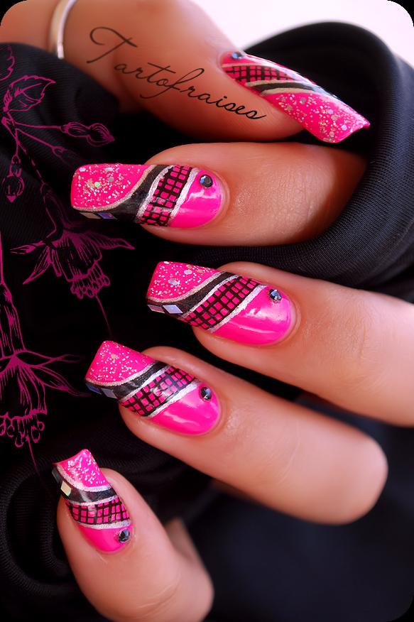 Tartofraises Nail Nails Nailart Beauty Nails Pinterest Nail