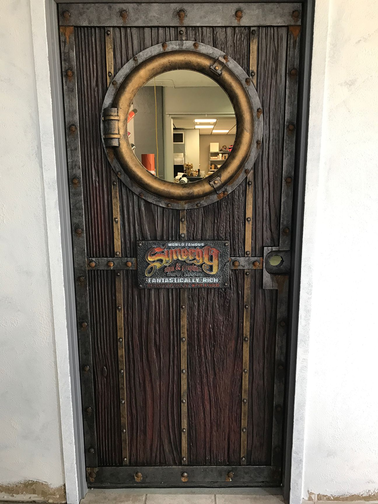 Carved Door Skin From 30lb Precision Board Trade Show Design Signage Awesome