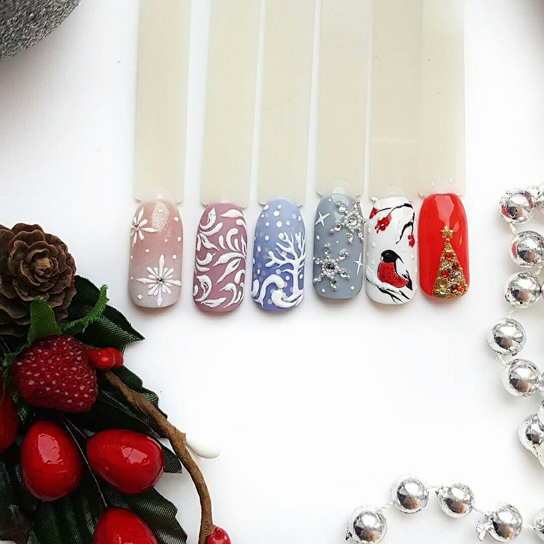 New Years Nail Designs 2018: Best Art Ideas for Nails Color