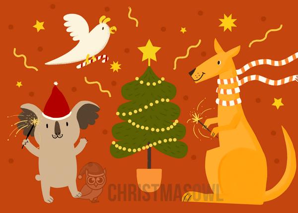 Australian Christmas Cards Free Download.Pin By Jagrlover Nammygirl No Pin Limits On Koalatreehouse