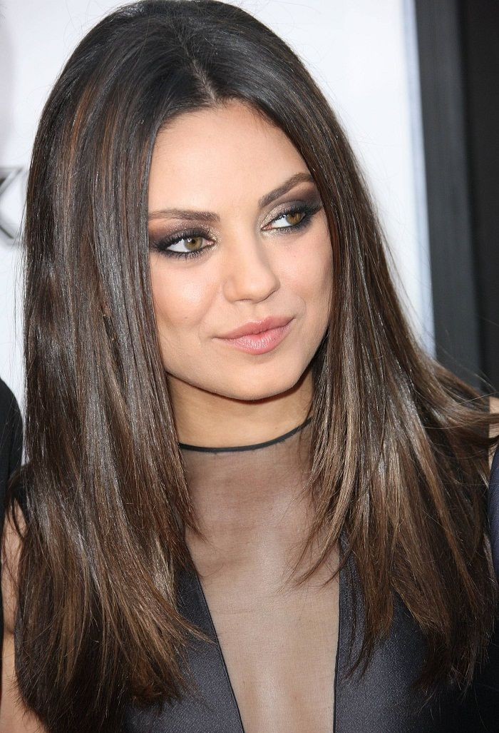 15 Celebrity Hairstyles To Slim Down Your Fat Face Cabello