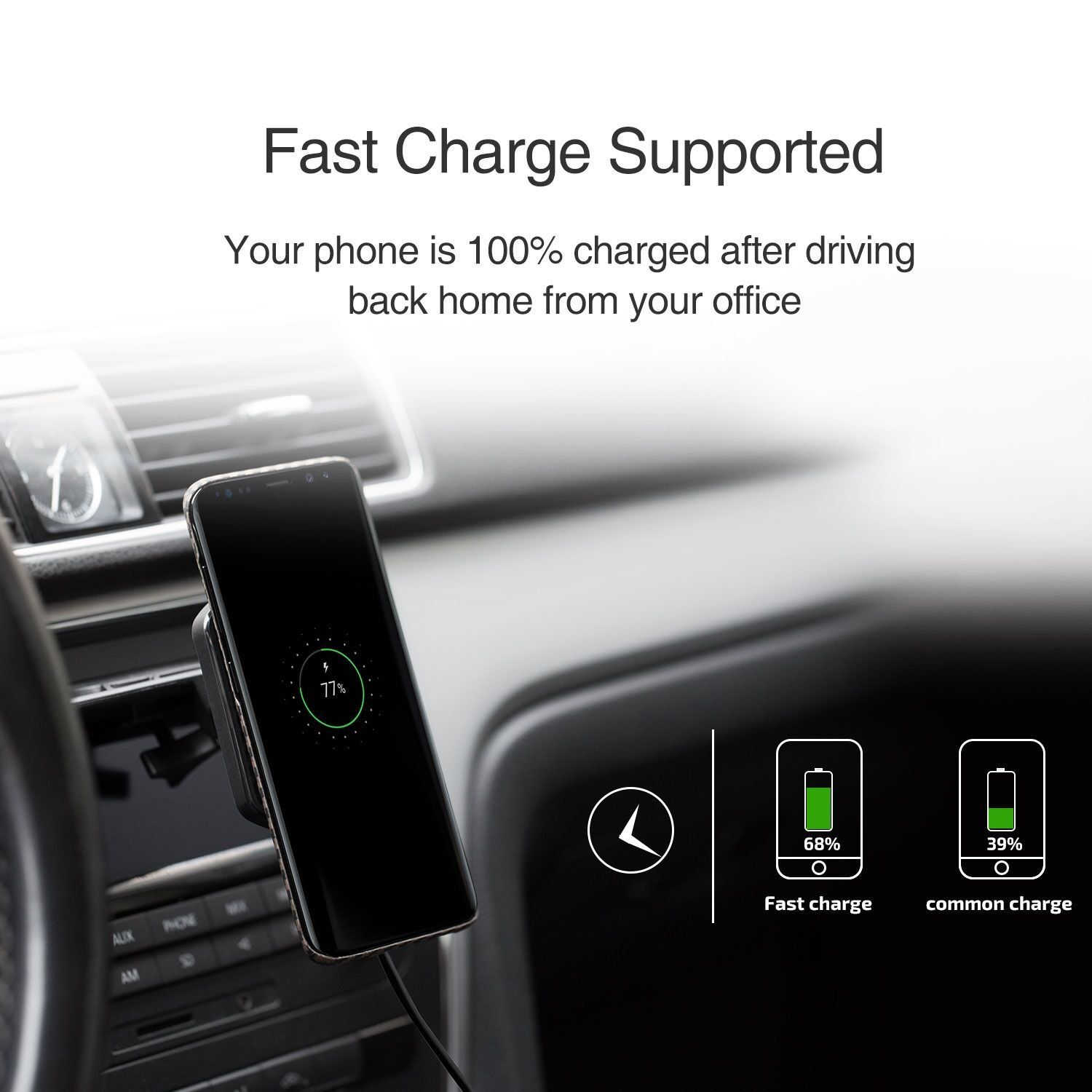 2Pack Use at Home or Office or as Mobile Phone Holder Stick on Glass Tiles and Many More PLUS Limited Time Offer FREE USB SuperCharger Multi-Purpose SuperStrong Sticky Pad Android Plastic Metal