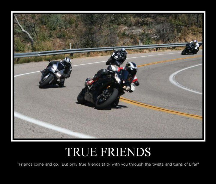 True Friends Funny Motorcycle Biker Quotes Funny Motorcycle