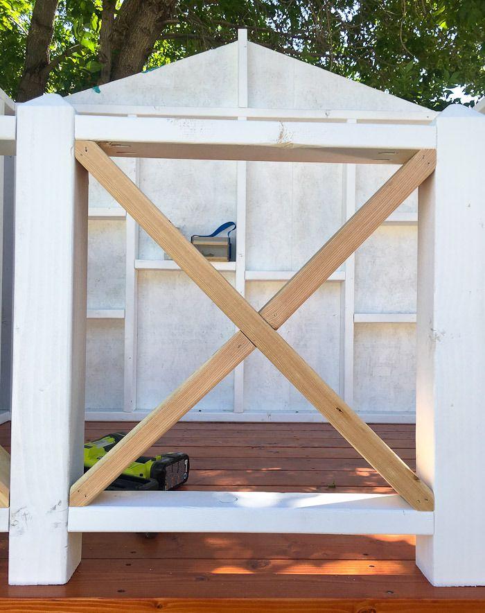 Stelzenhaus Geländer aus Holz selber bauen Sicherheit für die Kinder ...