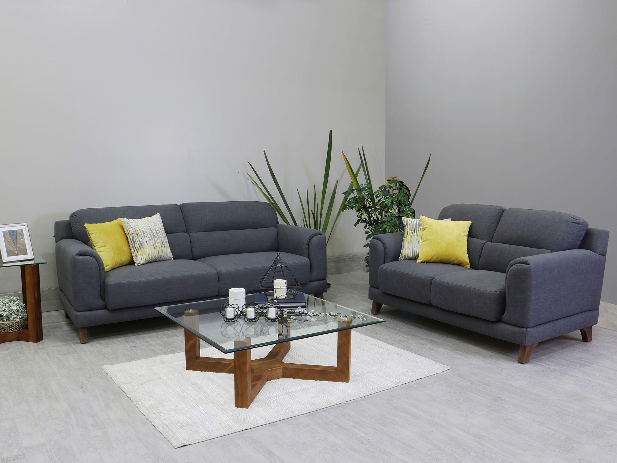Sala 3,2 Sofia Lugano Alexa Contemporánea de tela | my apartment ...