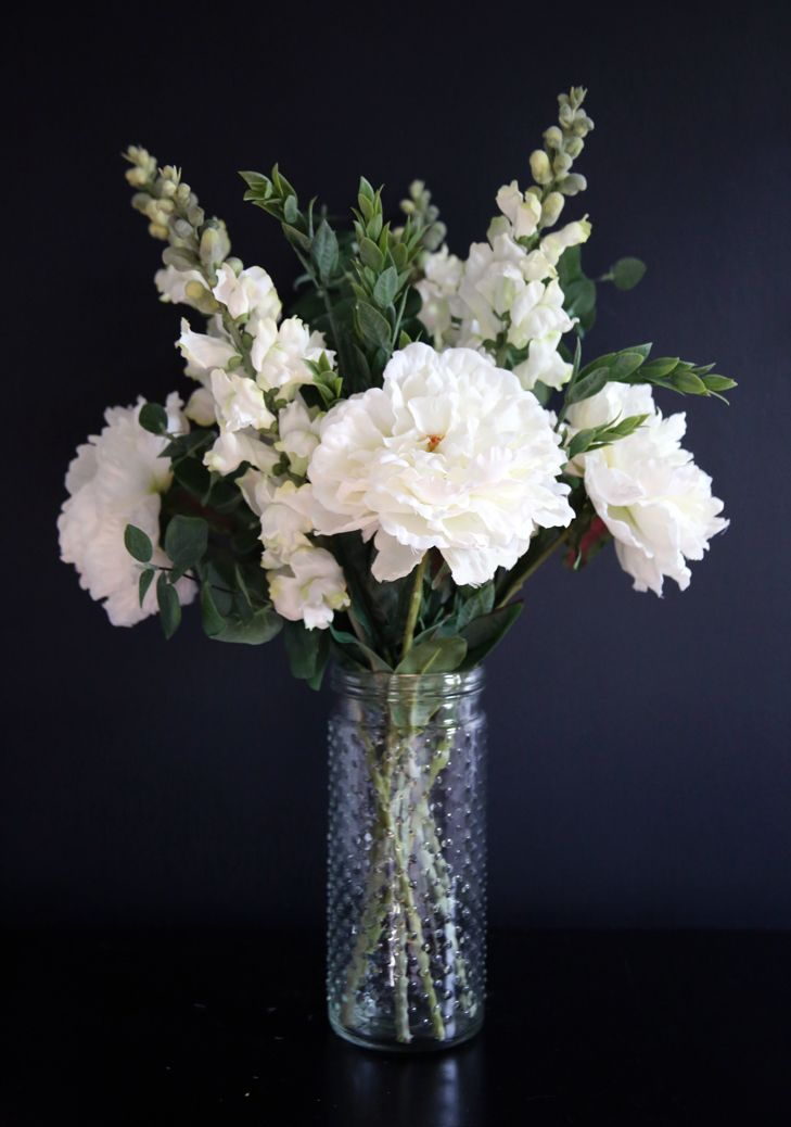 How Do You Feel About Faux Flowers White Flower Arrangements Fake Flower Arrangements Fake Flowers Decor