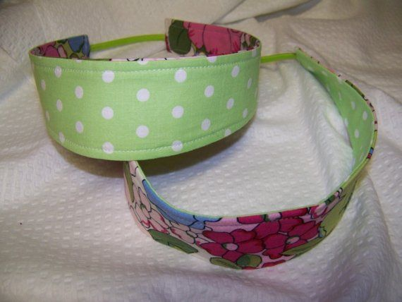 Reversible Headband Pdf Pattern 2 sizes Adult or by civilwarlady, $3.99 you could also make one