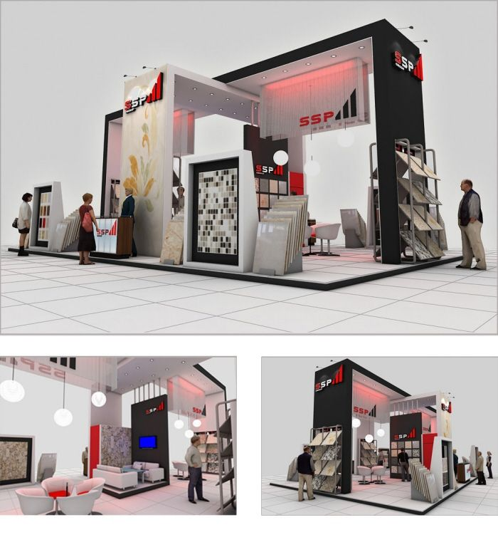 Freelance Exhibition Stand Design : Ssp booth by rohtash jangra at coroflot exhibition