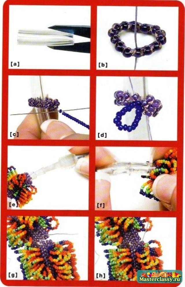 Как сделать браслет из бисера: инструкции и схемы плетения 29
