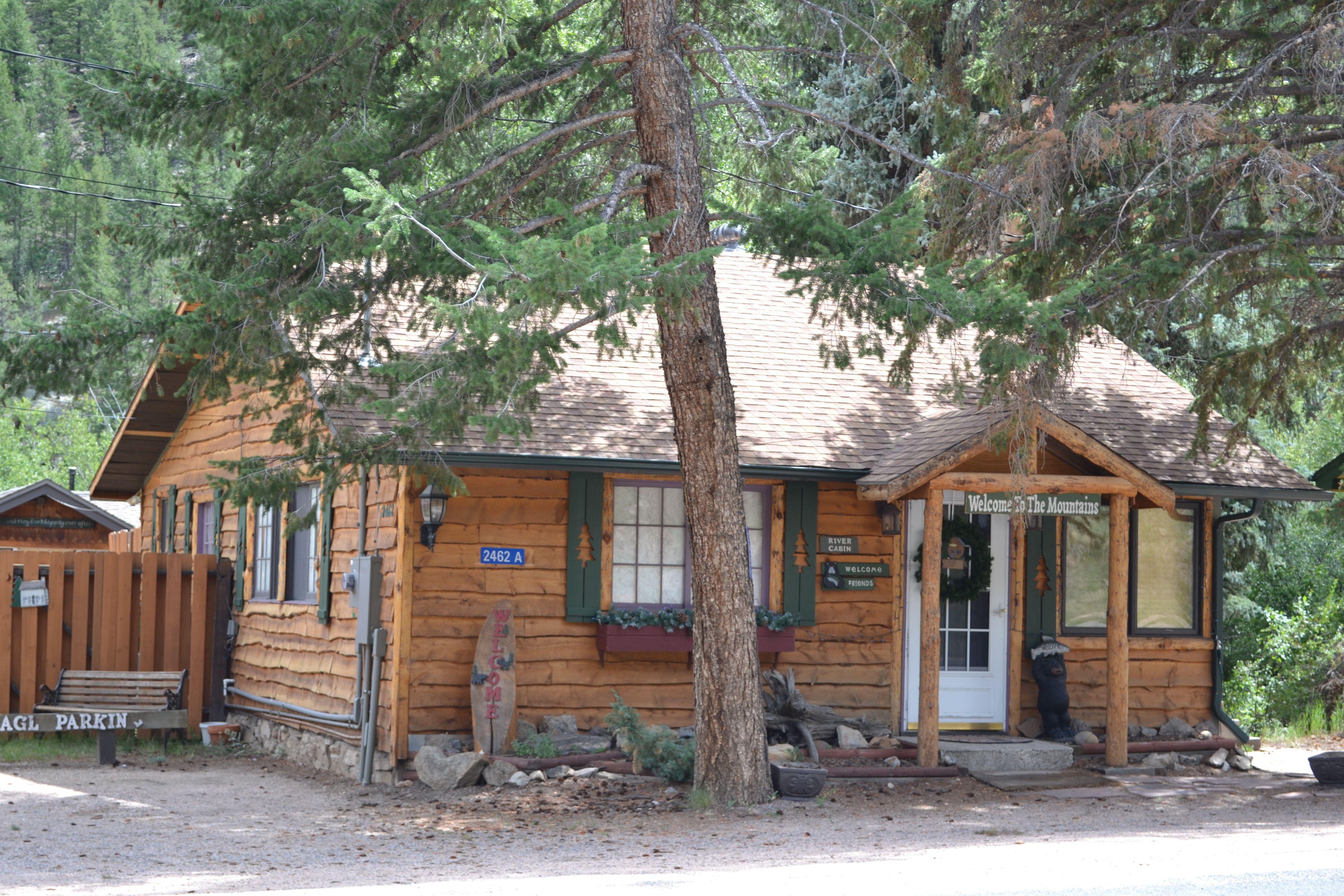 River cabin annies mountain retreat estes park colorado for Rocky mountain state park cabins