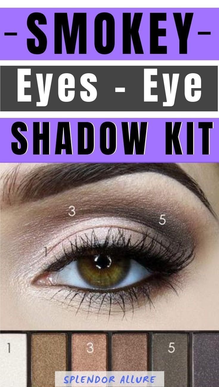 Smokey Eyes Eye Shadow kit Eyeshadow, Smokey eye