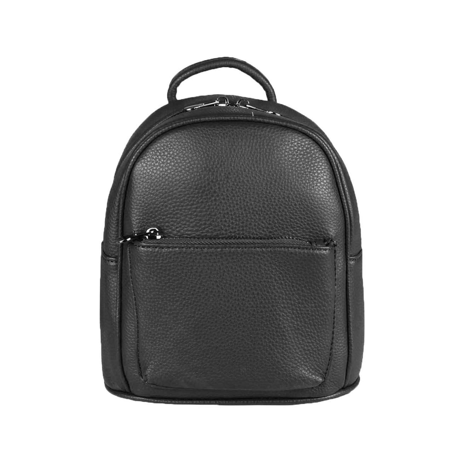 1b0dd6a4b6355 OBC ital-design DAMEN MINI-RUCKSACK Tasche Backpack Nieten Daypack  Cityrucksack Schultertasche Stadtrucksack Metallic
