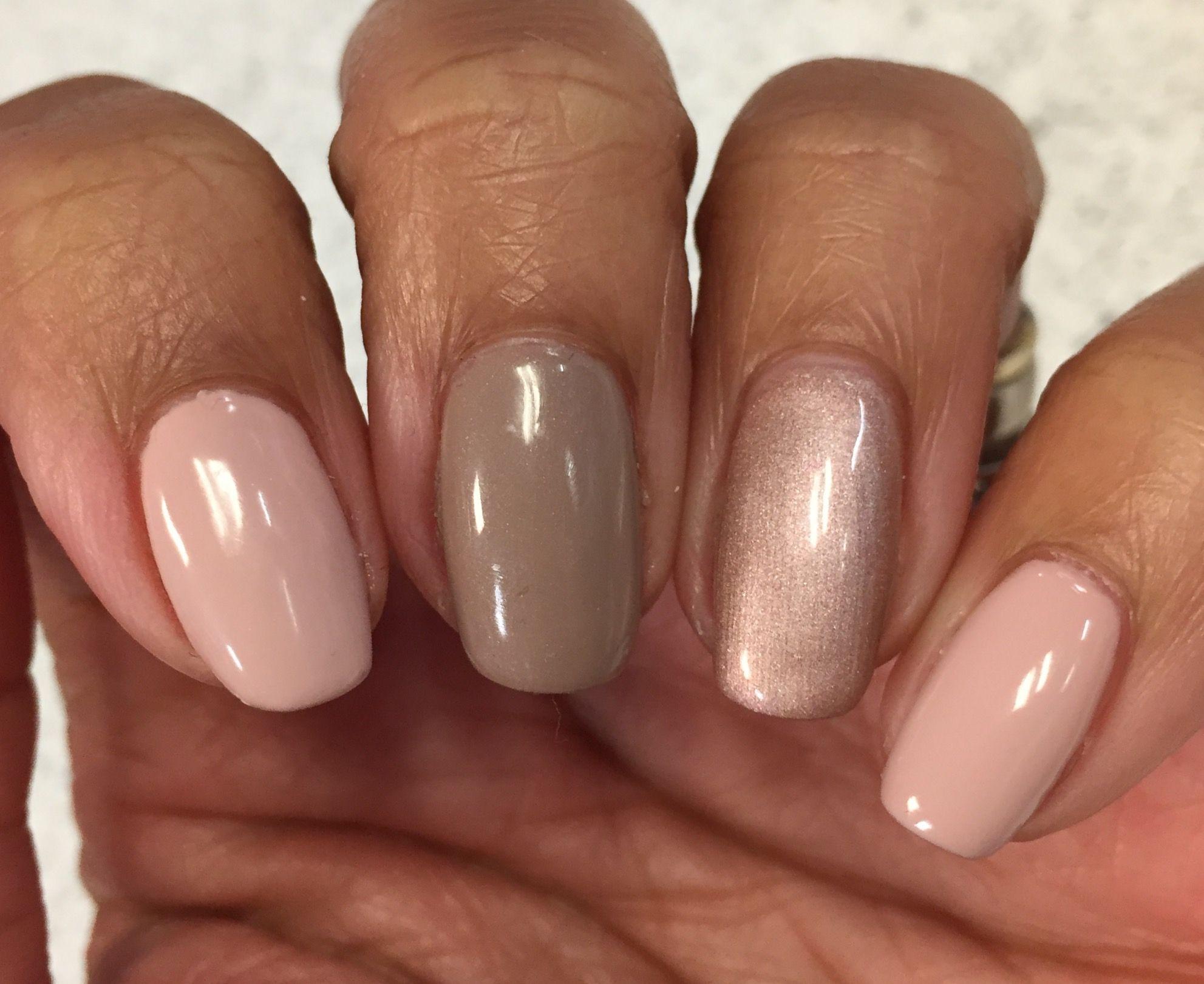 Bluesky QXG312, AF04 Warm Taupe & Copper Rose | nails | Pinterest ...