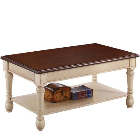 Home Coffee Table Rectangle Coffee Table Antique White Coffee
