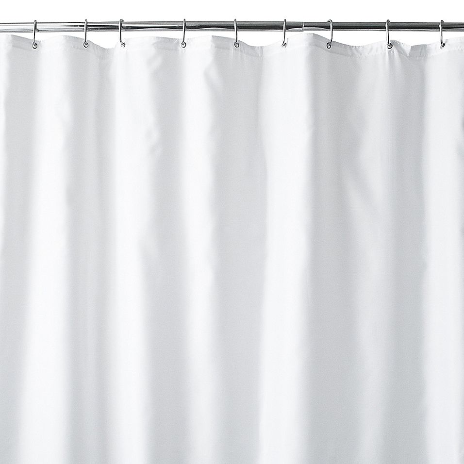 Wamsutta 72 X 96 Extra Long Fabric Shower Curtain Liner With