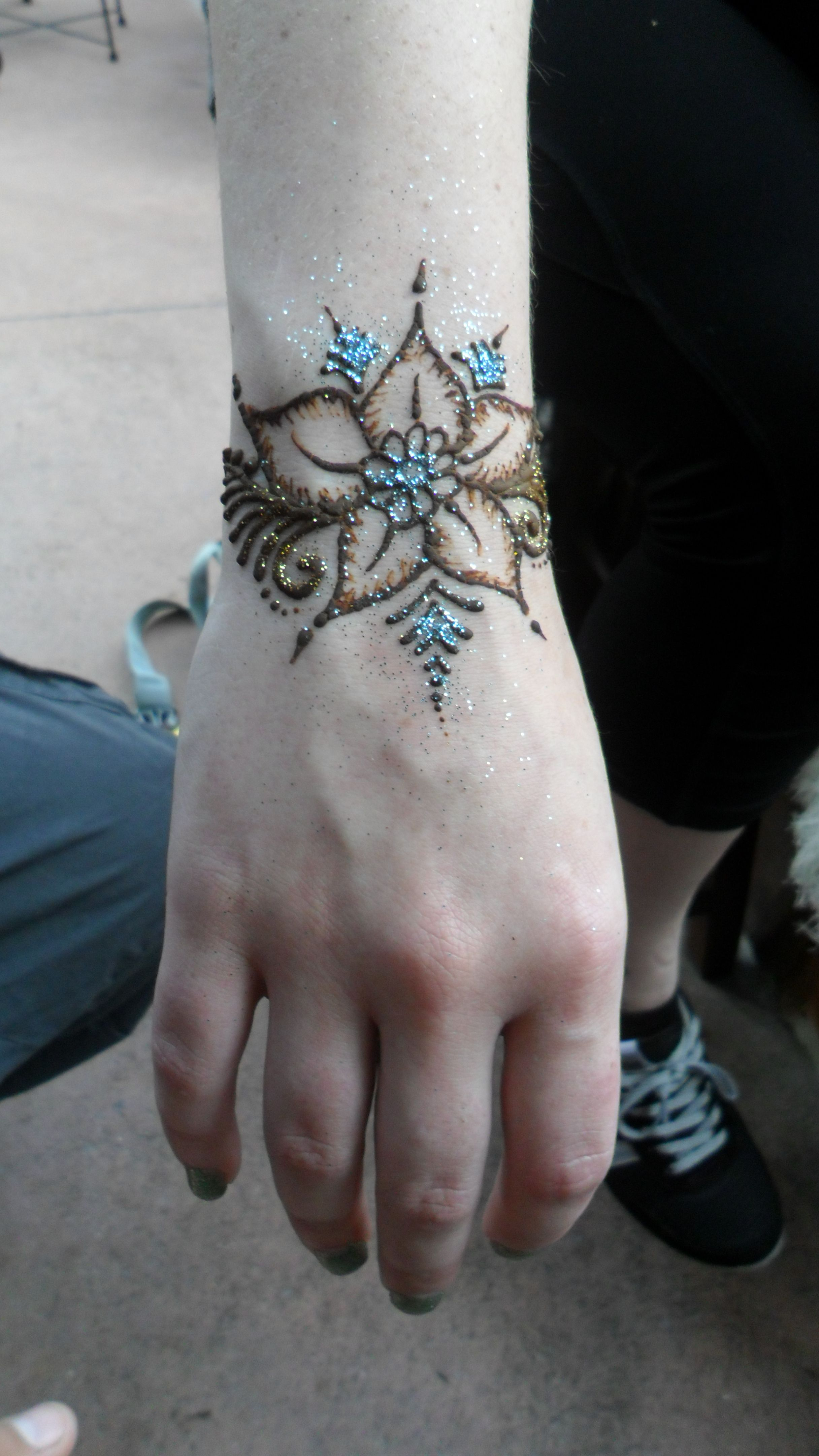 Henna World: Moroccan Henna- Inspiration Done At Epcot In Disney World