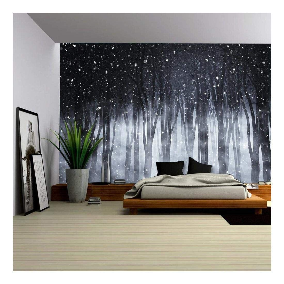 Image Result For Spooky Woods Wall Mural