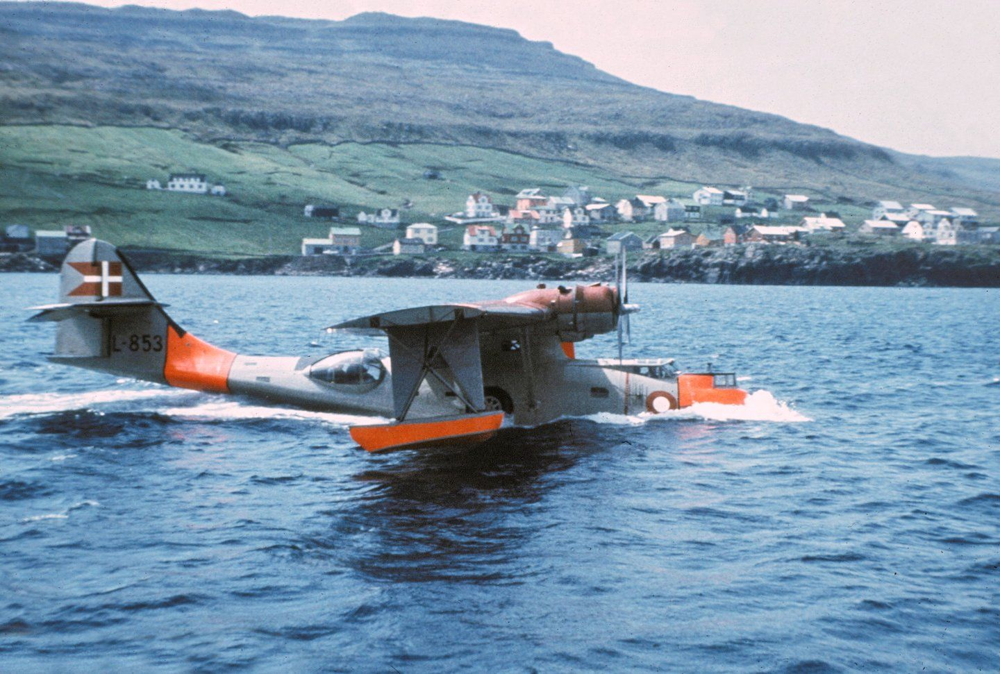 Royal Danish Air Force PBY5A L853, on the Faroe Islands