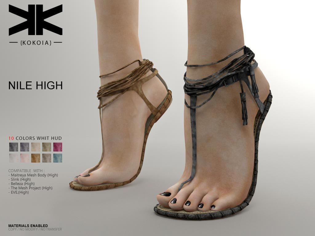 Nile High :: Woman Shoes :: 10 Colors | Originals, Facebook
