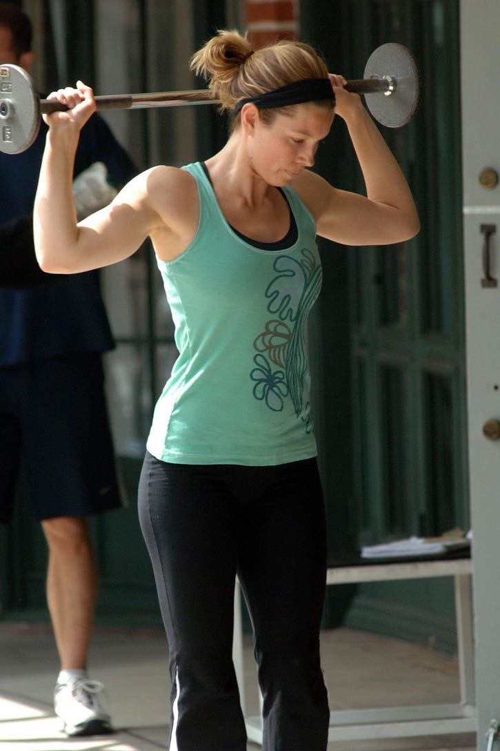Jessica Biel Workout | Fit celebrities | Pinterest ...