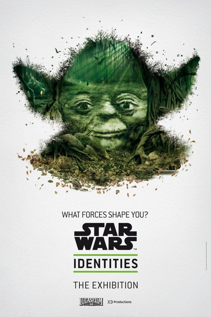 58c162cc Star Wars Identities: The Exhibition Posters | Things I Wish Came ...