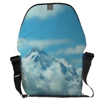 Mystical Mount Shasta SDL Bag 2 Messenger Bags