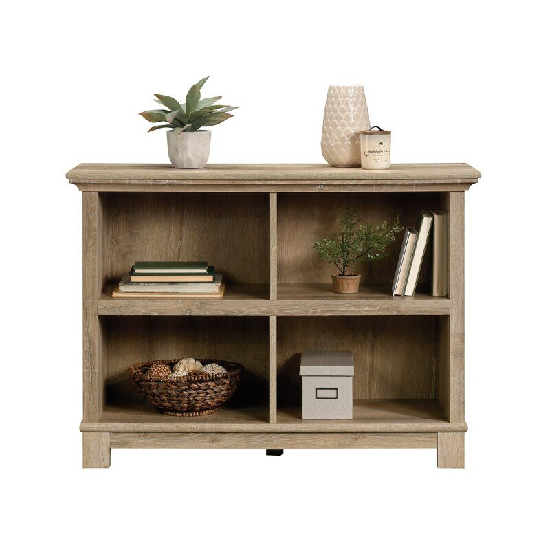 Millikan Standard Bookcase Wood Shelves Display Bookcase Home Decor Items