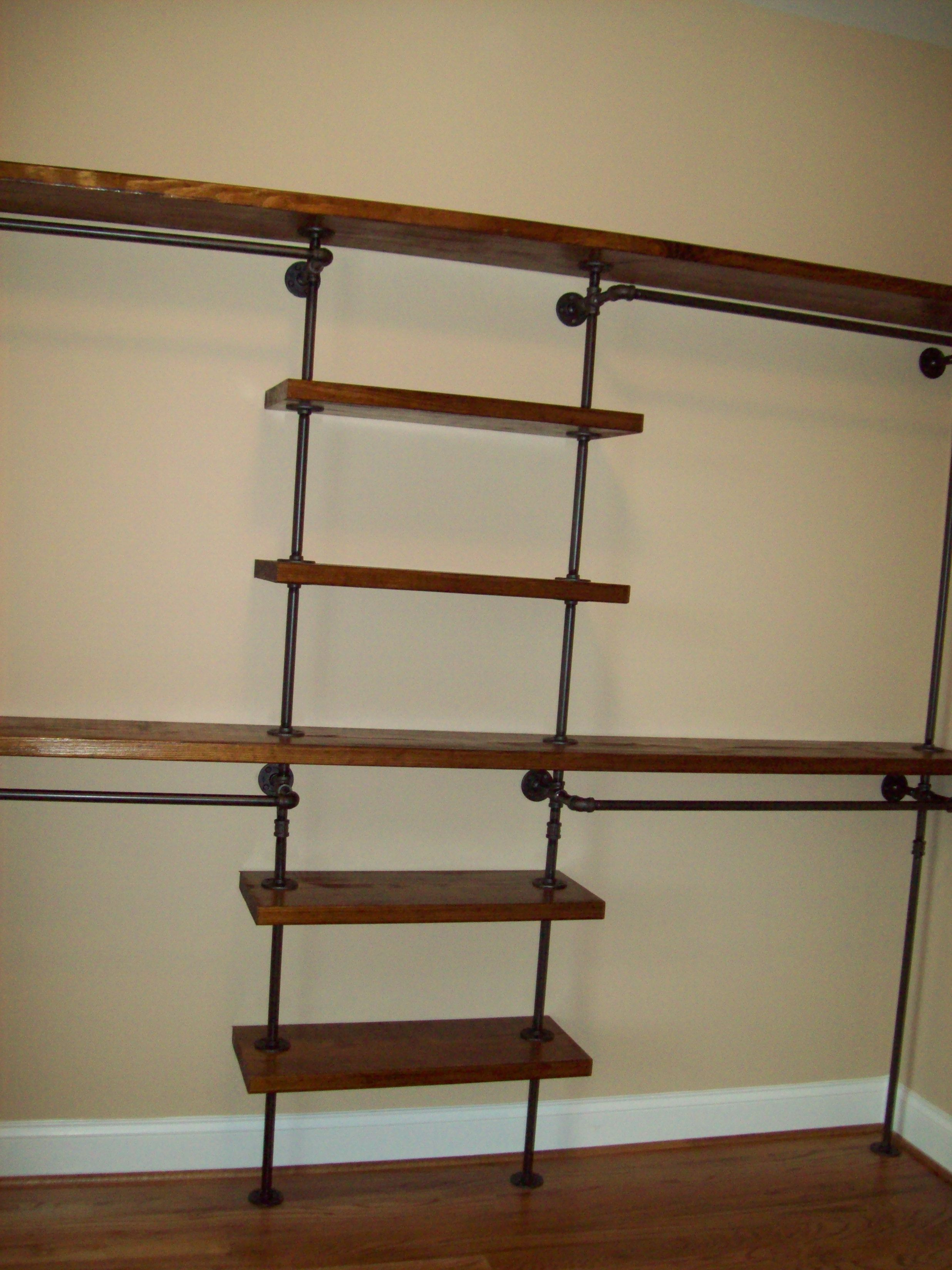 Black Pipe Closet | DIY PROJECTS | Pinterest | Pipe closet ...