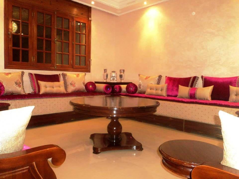 صالون مغربي في وجدة بألوان جريئة موقع يالالة Yalalla Com عالم المرأة بعيون مغربية Home Decor Decor Home