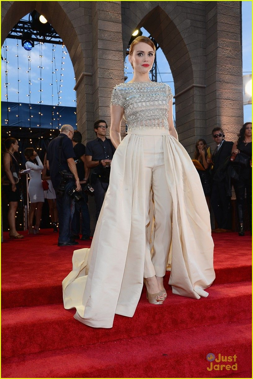 Holland roden cigarette pants in a ball gown genius dresses