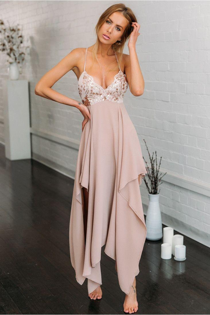 Pink evening maxi dress backless long dress women summer dress