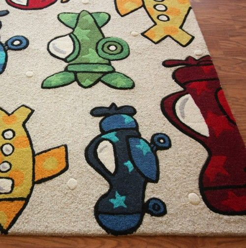 Aeroplane Rug Such A Sweet For Little Boys Room