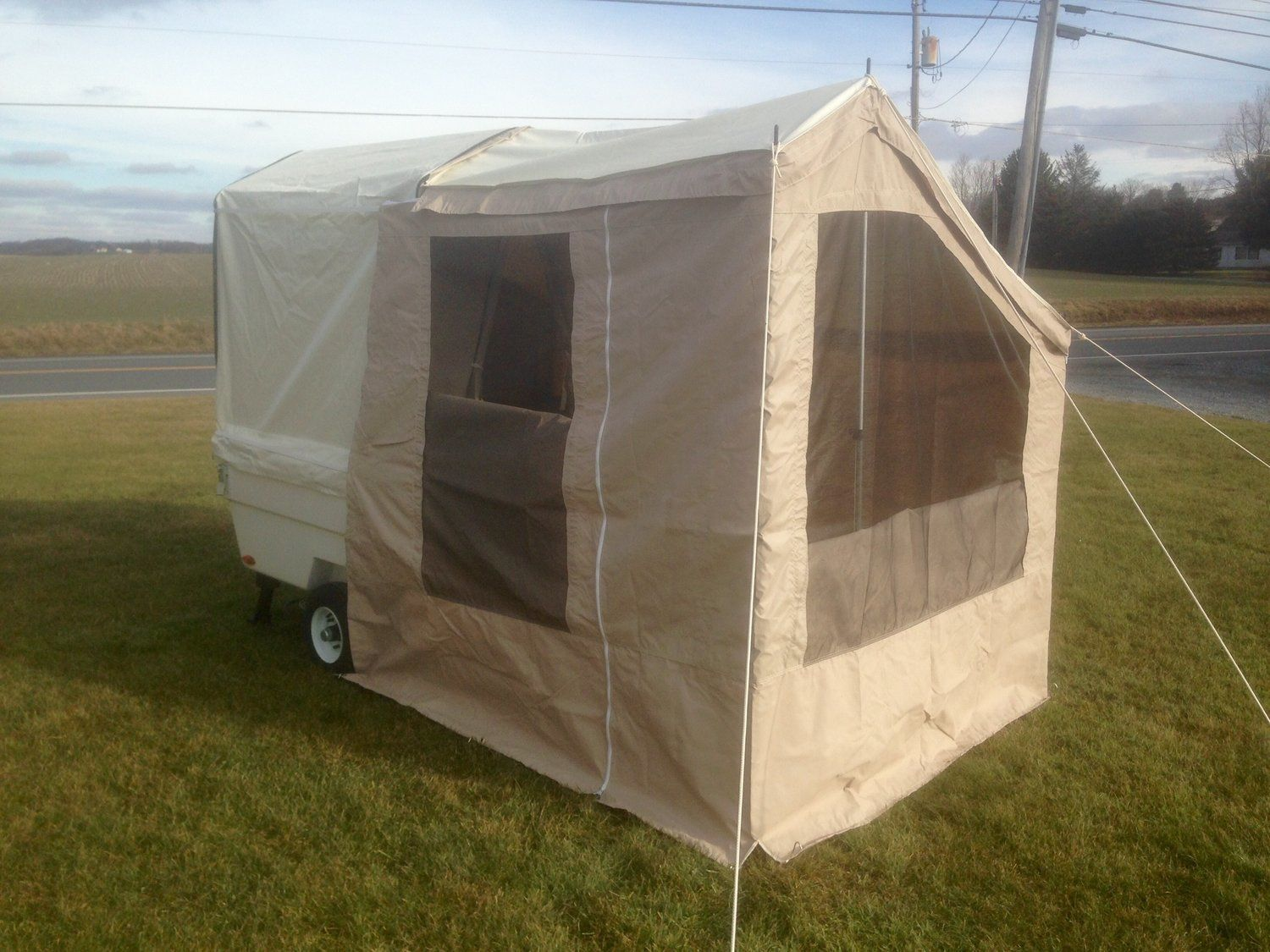 Add-a-Room Awning Sidewalls for Mini Mate Camper | Add a ...