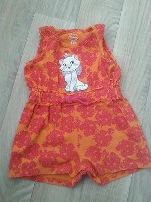 Disney Romper Aristocats Marie Baby Girls Infant Size 3 6 Months