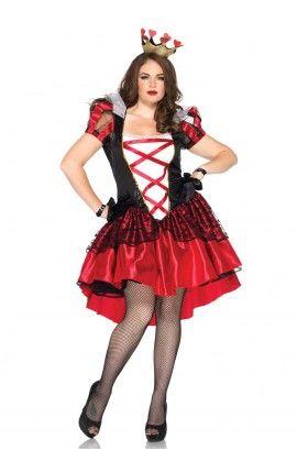 Disfraces Talla Grande 1 Traje De Reina Roja Disfraz De Talla Grande Disfraces Tallas Grandes