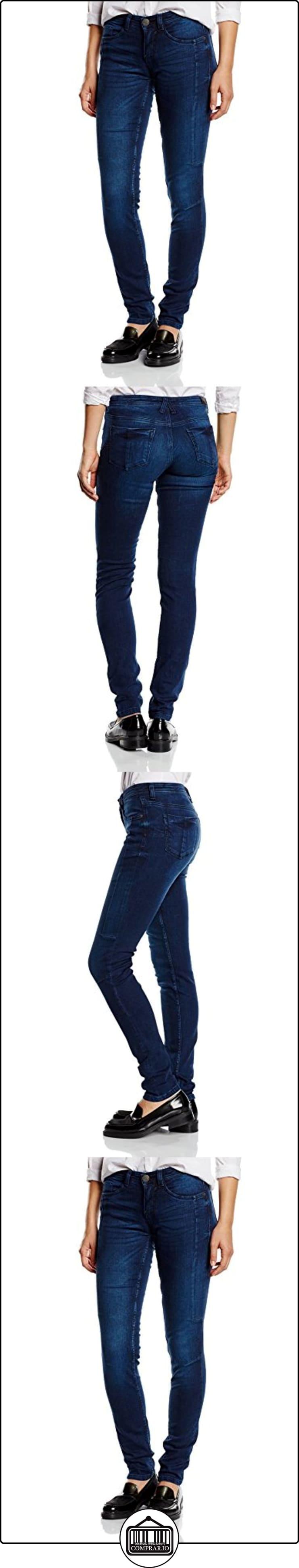 H.I.S Jeans Cherry-Vaqueros Mujer,, Blau (Gloomy blue 9651), 38W/33L  ✿ Vaqueros ✿