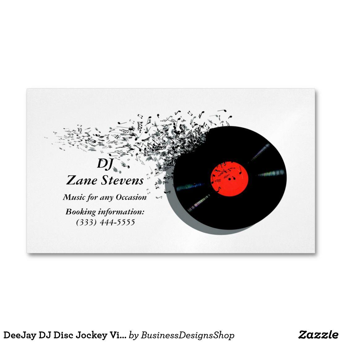 Deejay Dj Disc Jockey Vinyl Record