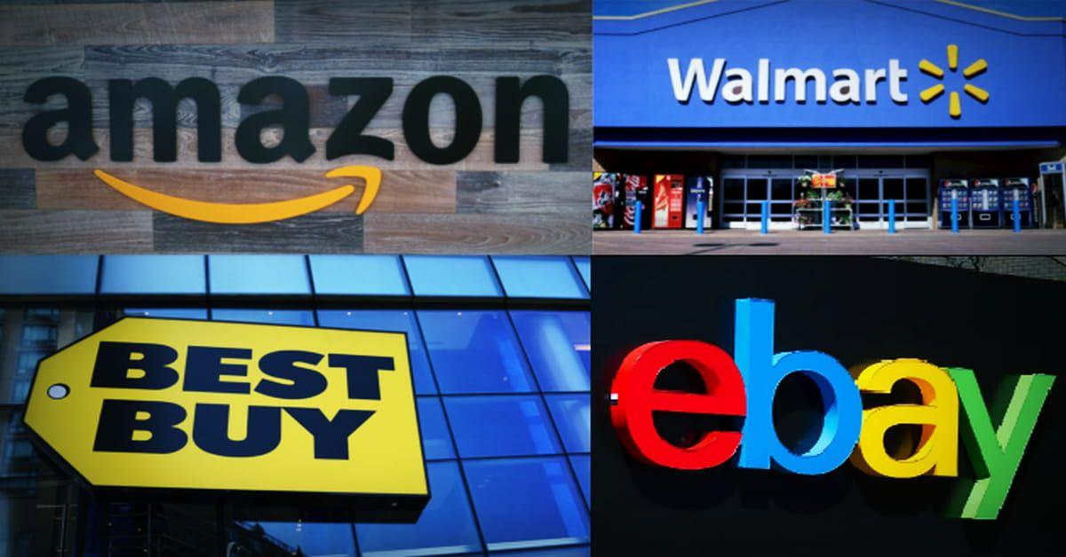 أفضل مواقع تسوق أمريكية عالمية موثوقة Shopping Websites Company Logo Tech Company Logos