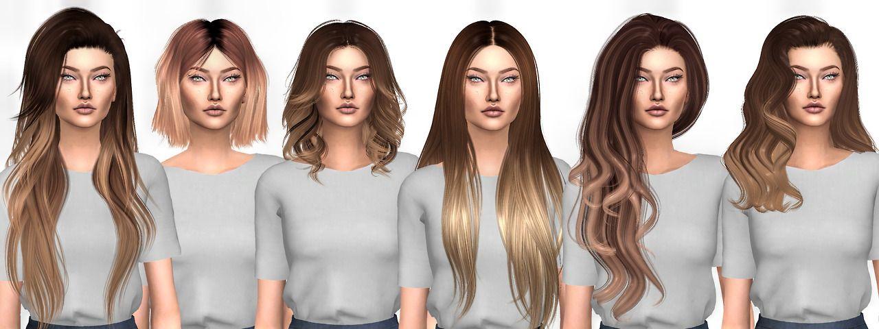 Ombre Hairstyles 2 Xxxx Simpliciaty Cc Xxxx Aveirasims