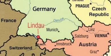 Lindau Germany Map.Lindau Germany On Lake Constance Maps Pinterest Lindau