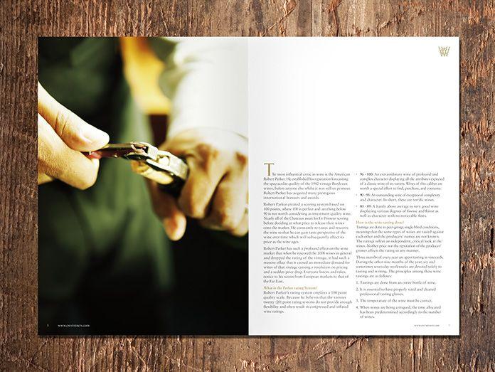 Wine Sales Brochure design Pinterest Brochures, Corporate - sales brochure
