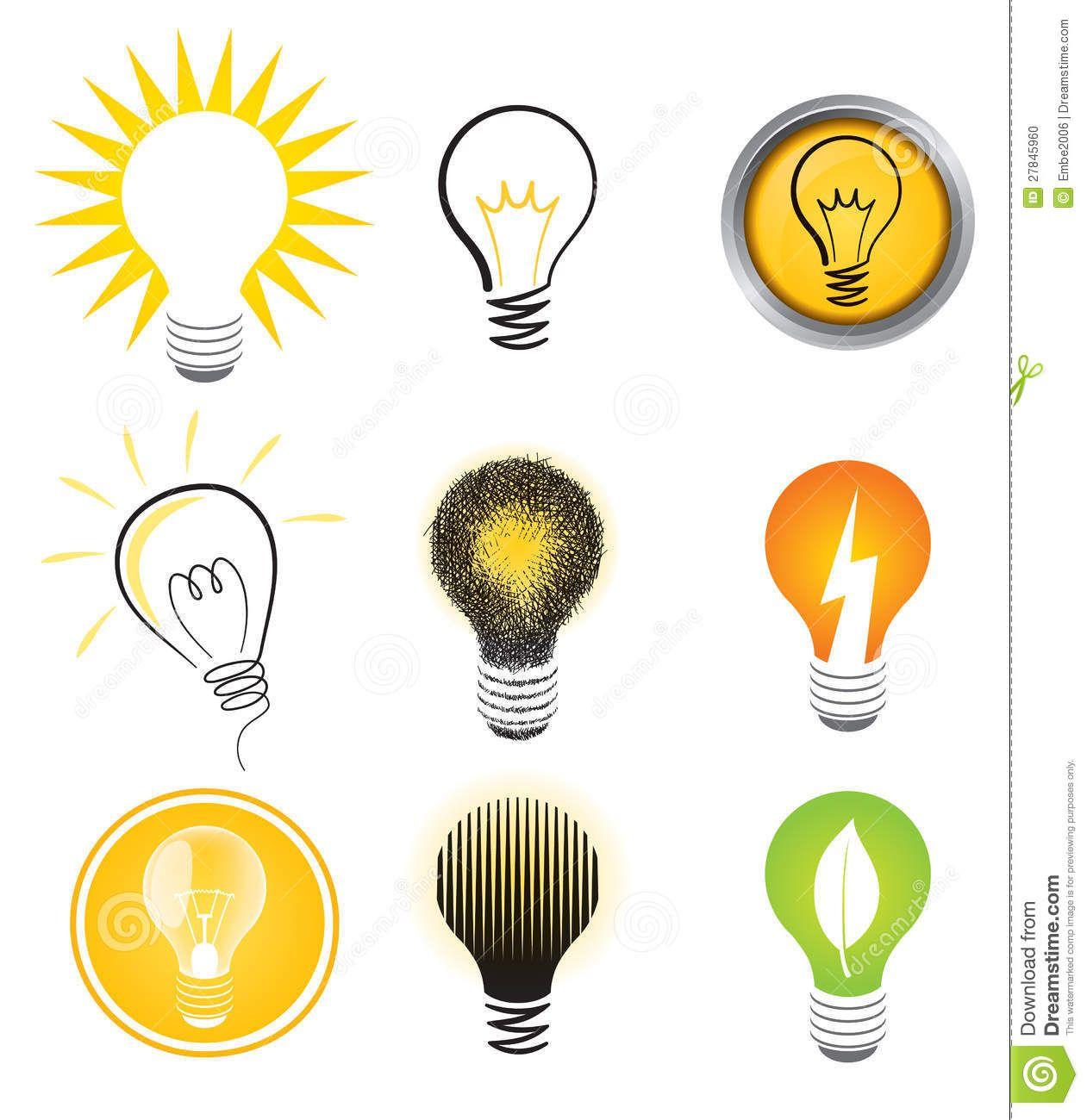 light bulb logo vector Google Search Light bulb logo