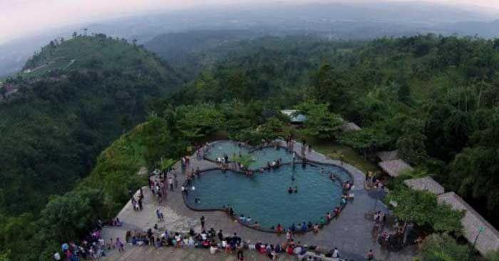 Umbulsidomukti Ungaran Merupakan Salah Satu Wisata Alam Pegunungan Di Semarang Tepatnya Berada Di Desa Sidomukti Kecamatan Bandun Pemandangan Alam Semarang