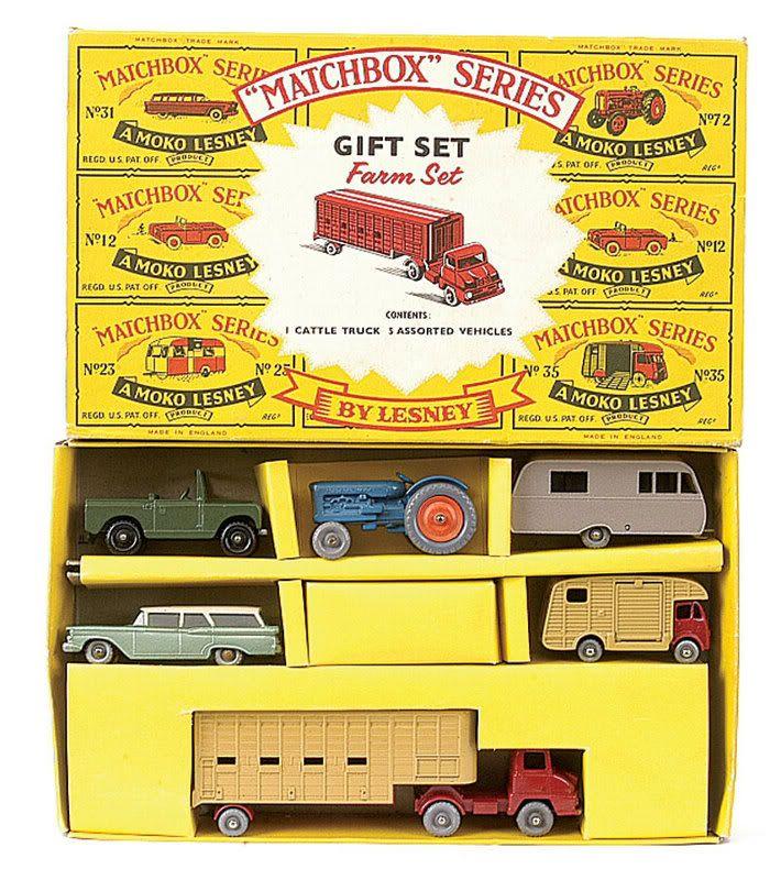 Lesney Matchbox G4 Gift set (1950\'s). | Cool and vintage toys ...